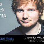 Bus to Ed Sheeran Phoenix Park Dublin