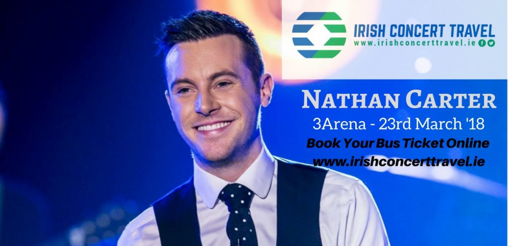 Irish Concert Travel Bus to Nathan Carter Concert