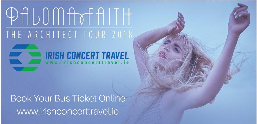 Paloma Faith | 3Arena | Irish Concert Travel