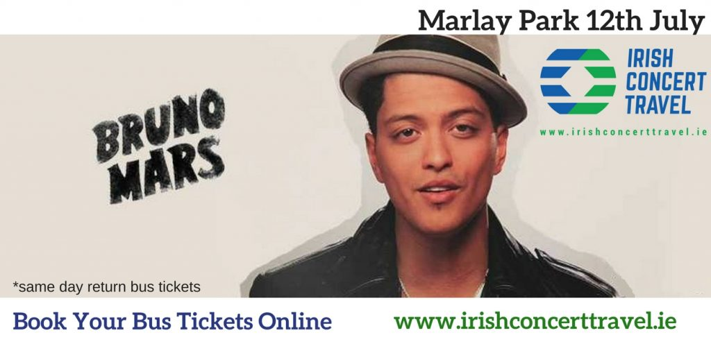 Bus to Bruno Mars in Marlay Park
