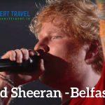 Bus to Ed Sheeran in Belfast