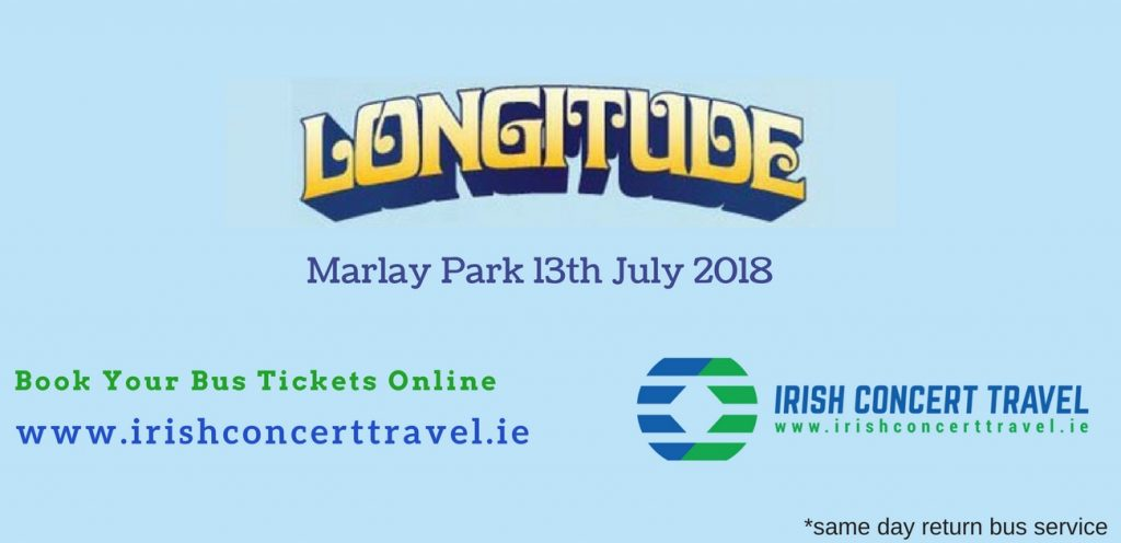 Bus to Longitude Marlay Park 13th July