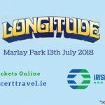 Bus to Longitude Marlay Park 13th July