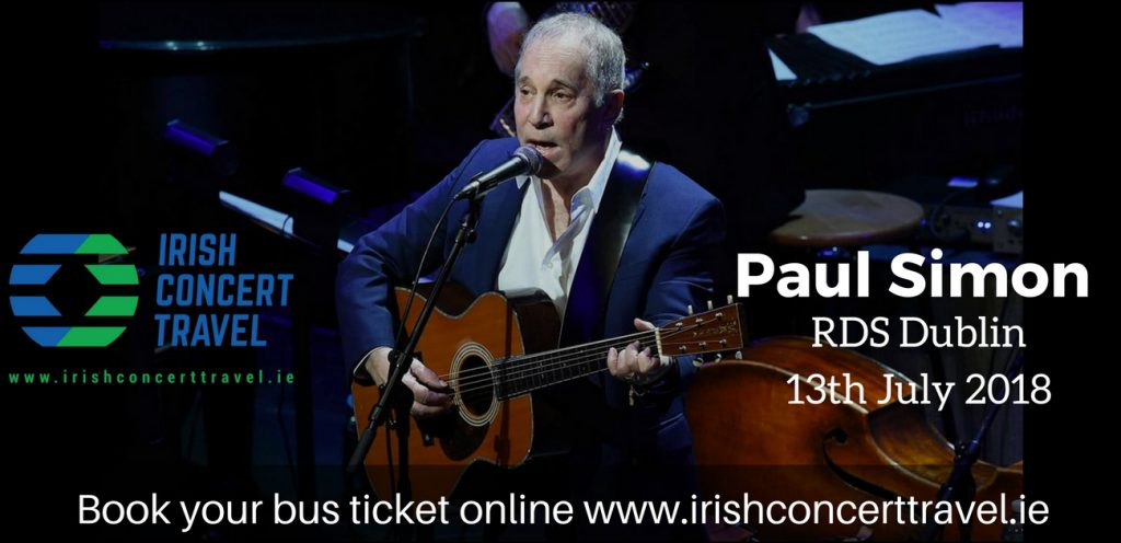 Bus to Paul Simon in the RDS