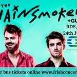 Bus to The Chainsmokers