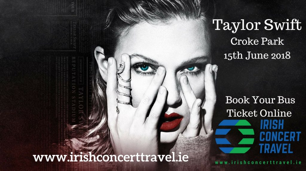 Taylor Swift Croke Park 15th June