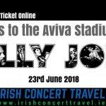 Bus to Billy Joel in the Aviva Stadium