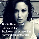Bus to Demi Lovato