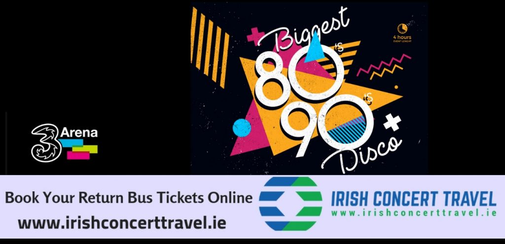 Bus to 80s - 90s Disco 3Arena