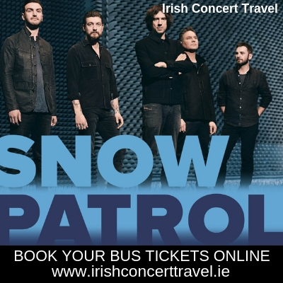 Bus to Snow Patrol in the 3Arena
