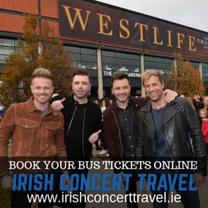 Bus to Westlife 6th July 2019