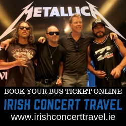 Bus to Metallica in Slane 2019