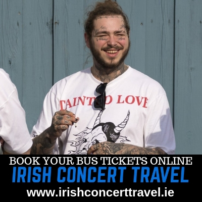Bus to Post Malone RDS Dublin
