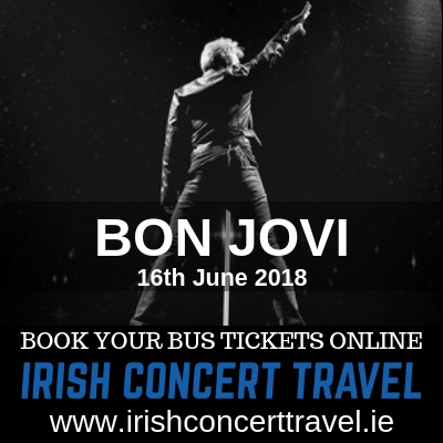 Bus to Bon Jovi 16th June