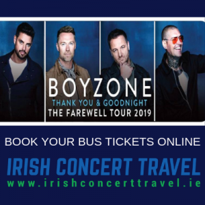 Bus to Boyzone in the 3Arena