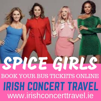 Bus to the Spice Girls in Croke Park 24th May 2019