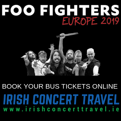 Bus to Foo Fighters in the RDS
