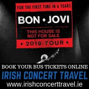 Bus to Bon Jovi 15th June in the RDS