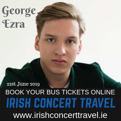 Bus to George Ezra in Malahide Castle