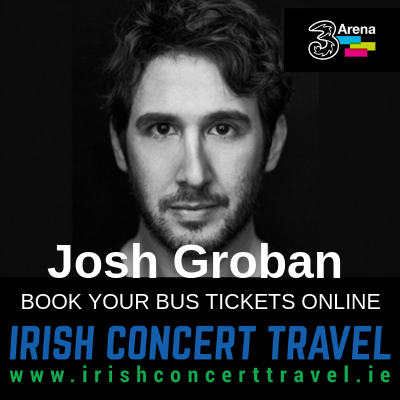 Bus to Josh Groban in the 3Arena