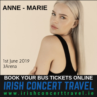 Bus to Anne - Marie in the 3Arena