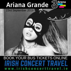 Bus to Ariana Grande 23rd September 2019