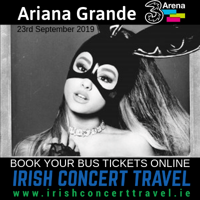 Bus to Ariana Grande 23rd September 2019