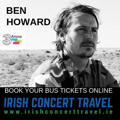 Bus to Ben Howard in the 3Arena