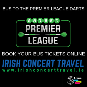 Bus to the Unibet Premier League Darts in the 3Arena