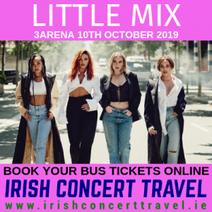 Bus to Little Mix 10th October 2019