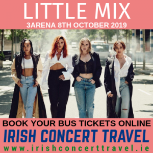 Bus to Little Mix 8th October 2019