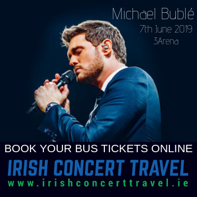 Bus to Michael Buble 7th June 2019