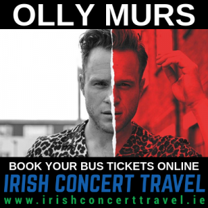Bus to Olly Murs in the 3Arena