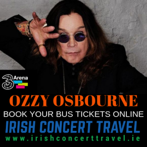 Bus to Ozzy Osbourne in the 3Arena