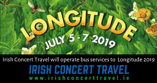 Irish Concert Travel will operate bus services to Longitude 2019