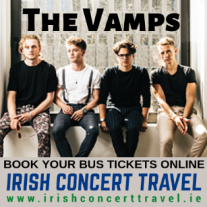 Bus to the Vamps in the 3Arena