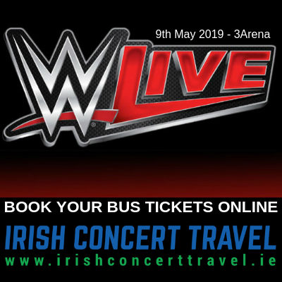Bus to WWE Live 9th May 2019 - 3Arena