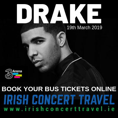 Bus to DRAKE 3Arena 19th March 2019