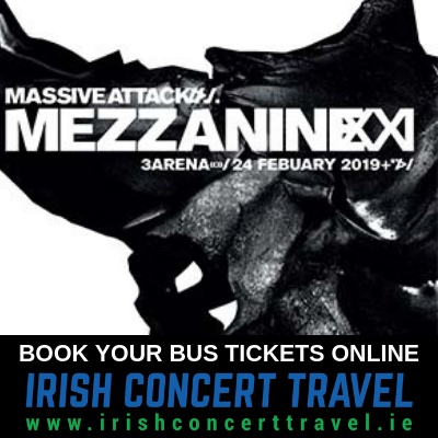 Bus to Massive Attack at the 3Arena 24th February 2019