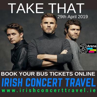 Bus to Take That - 3ARena 29th April 2019