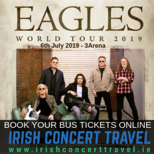 Bus to The Eagles 3Arena 6th July 2019