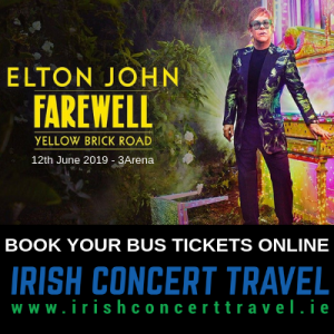 Buses to Elton John in the 3Arena 12th June 2019