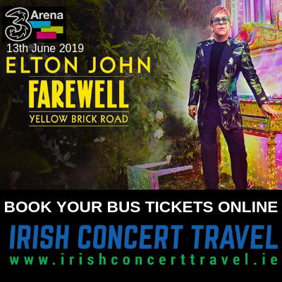 Buses to Elton John in the 3Arena 13th June 2019