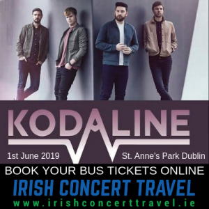 Bus Kodaline 1st June 2019