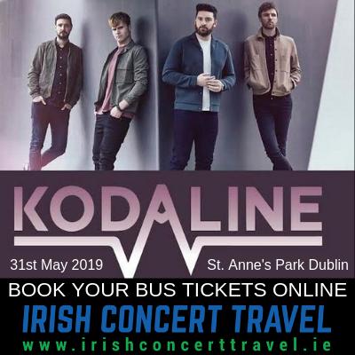 Bus to Kodaline 31st May 2019