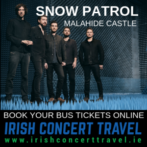 Bus to Snow Patrol in Malahide Castle