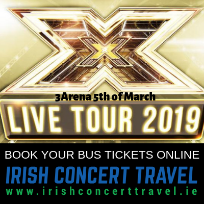 Bus to The XFactor Live Tour 5th of March 2019