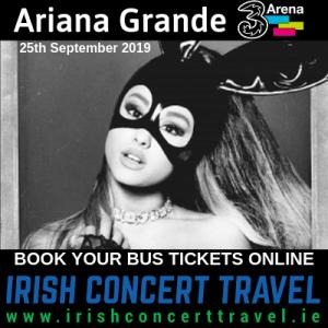 Bus to Ariana Grande 25th September 2019