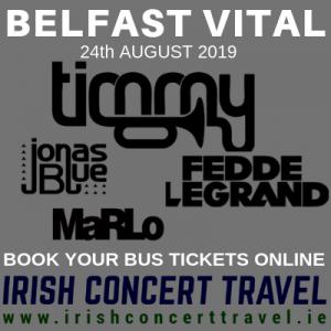 Bus to Timmy Trumpet Belfast Vital