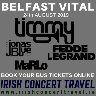 Bus to Timmy Trumpet Belfast Vital